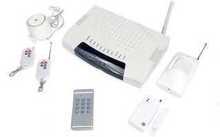 Охранная система сигнализации для дачи и загородного дома