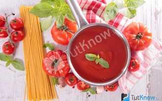 Соус для пасты с перцем и помидорами