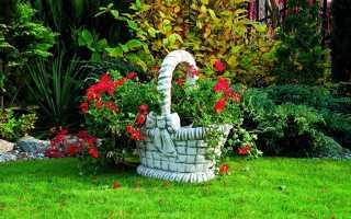 Уличные вазоны для цветов: красивая подставка под цветы на дачу