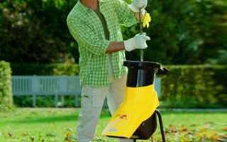 Как правильно выбрать садовый измельчитель: шредер для веток и травы